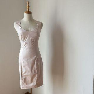 H&M Light Pink Sleeveless Dress