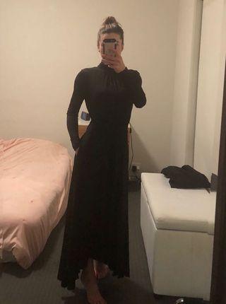 Witchery Black Madison Dress Size 4