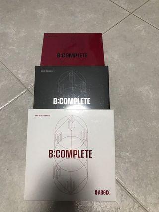 Ab6ix 1st debut album B:Complete sealed