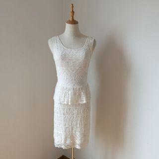 American Eagle Outfitters White Dress