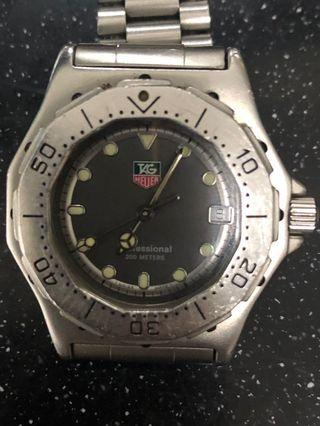 Tag Heuer professional 3000 series