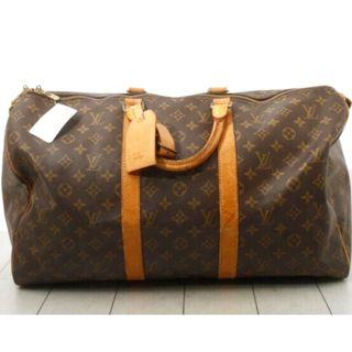 💯% Authentic LV Louis Vuitton Monogram Keepall 50 travel bag with tag
