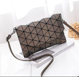 Fashion Geometry Laser Cross Bag