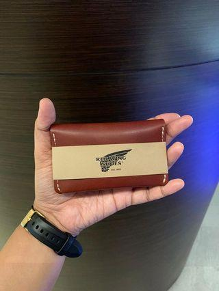🚚 Red Wing Card Holder / Wallet