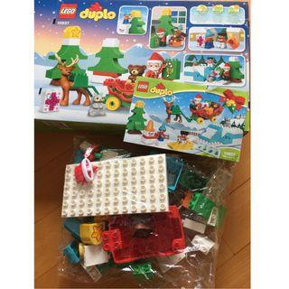 LEGO 10837 Duplo Santa's Winter Holiday 聖誕老人 Christmas 106件