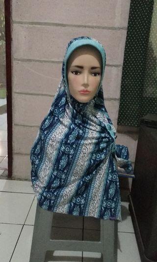 Kerudung, hijab instan, jilbab instan, preloved