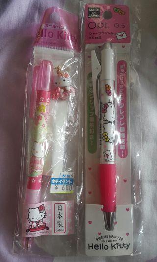 Hello Kitty 原子筆及鉛芯筆
