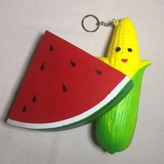 Squishy Watermelon and Corn