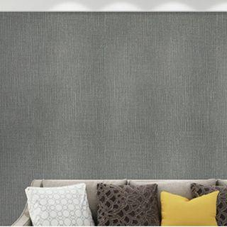 DIY INSTOCK Grey Matte Self-Adhesive Wallpaper Home Decor Wall Sticker Decal