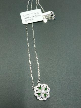 转运项链 A grade Burmese jadeite Necklace