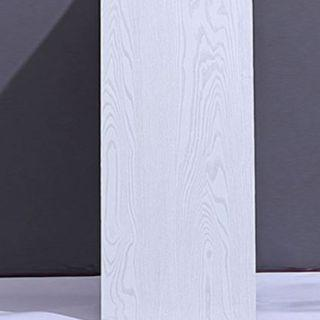 DIY Milky White Woodgrain Self-Adhesive Furniture Wallpaper Contact Paper Home Decor Wall Decal Sticker