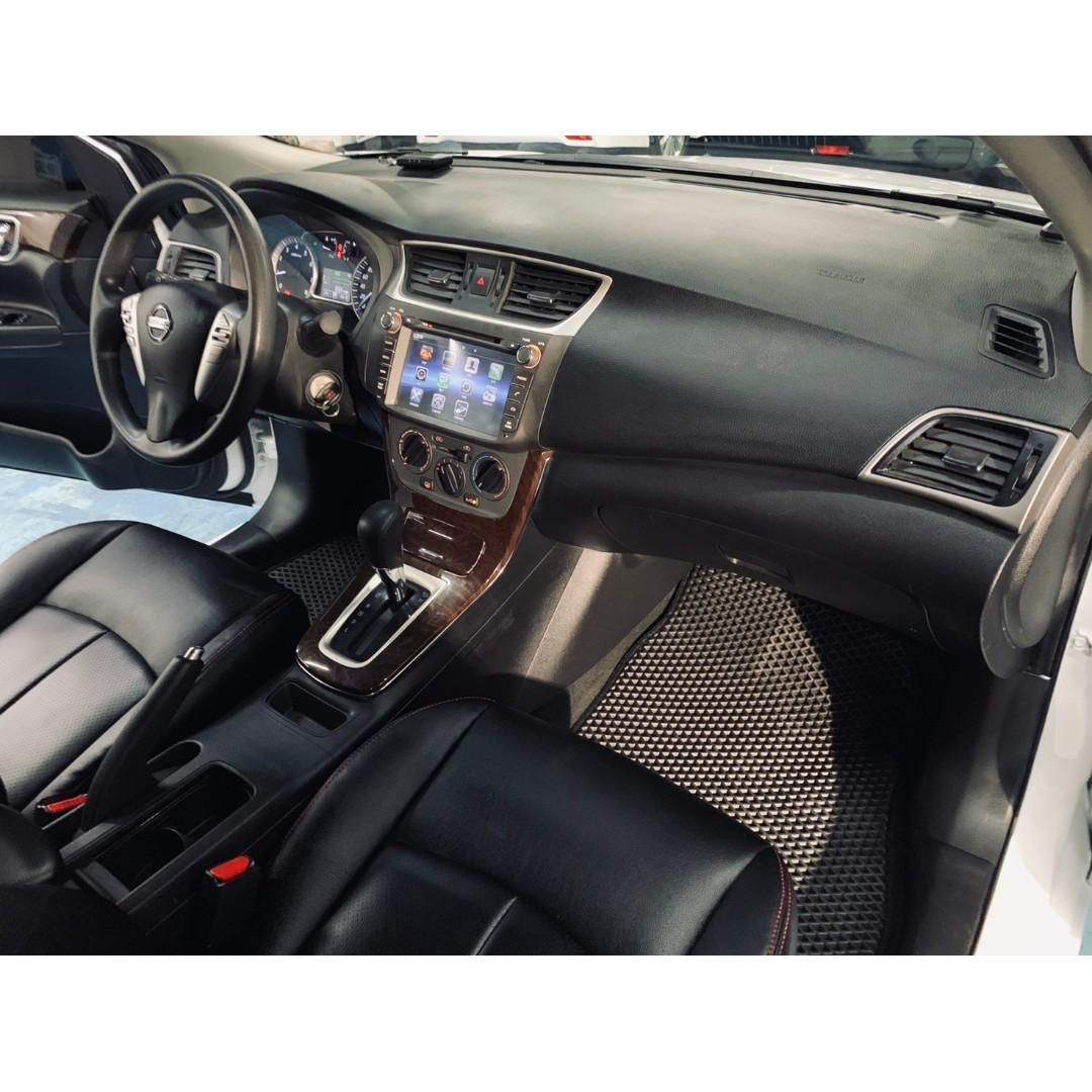 正2014年  Nissan SuperSentra 1.8 星燦白豪華影音版 只賣您25.8萬