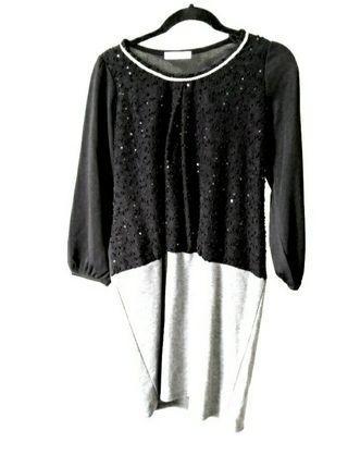 🚚 Black and grey dress