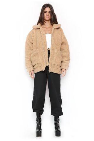 I AM GIA Teddy Bear Jacket