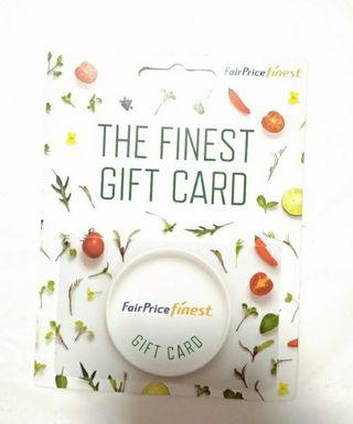 🚚 The finest gift card