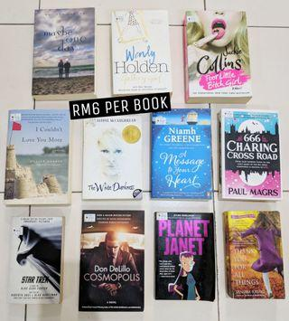 Young Adult Fiction Novels