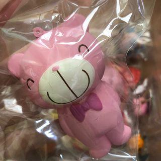 🚚 rare pink choco teddy squishy