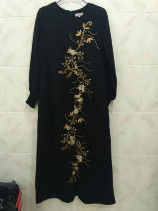 Jubah Embroidery #MGAG101