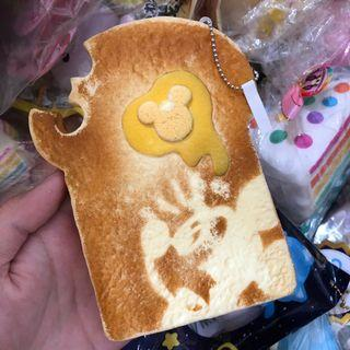 🚚 wts mickey mouse bread squishy