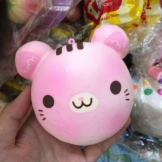 🚚 wts puni maru cotton candy cat bun squishy