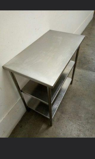74cm Small stainless steel table FREE  DELIVERY