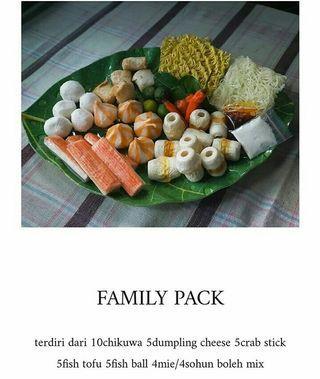 Suki instan ( Family pack)