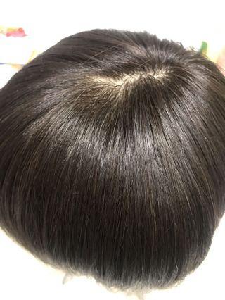 得意假髮 半頂式(非髮片)