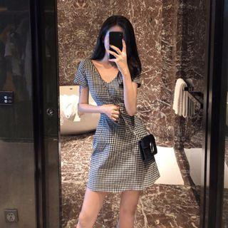 Zaia Gingham Dress