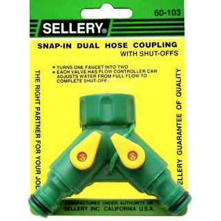 Dual Hose Coupling Snap in