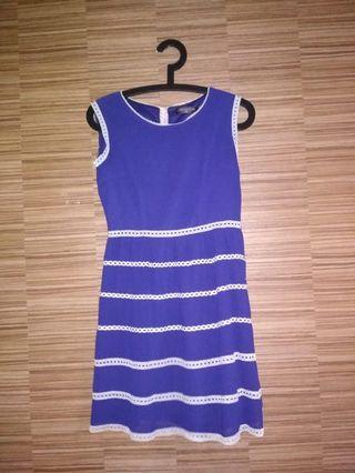 Blue Dress / Office dress