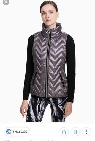 New! Calvin Klein Performance down vest XS