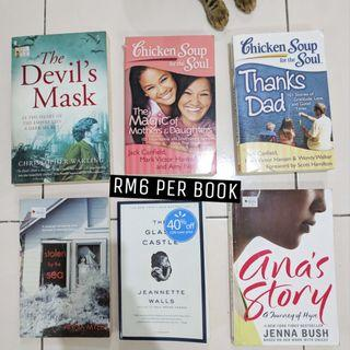 Historical / Self Help / Nonfiction / Autobiography > Memoir Novels