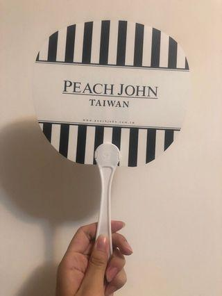 Peach john扇子