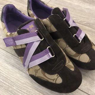 Coach sneakers size 39