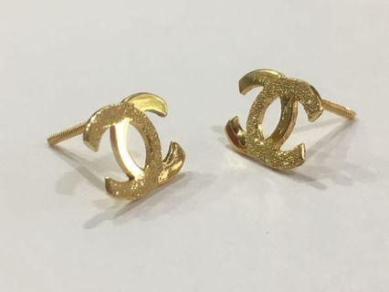14k Gold Earring Studs