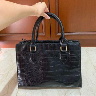 Tas Zara Hitam / Zara Black Bag original store
