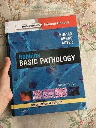 Robbins Basic Pathology by Kumar,Abbas and Aster (hardcover)