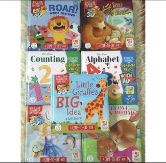 Buku Ajaib anak LITTLE HIPPO 4D magic book BBW bigbadwolf