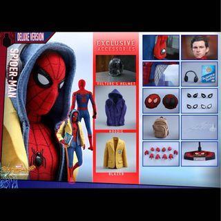 [徵] 全新/二手hot toys spiderman homecoming deluxe版,請帶價pm