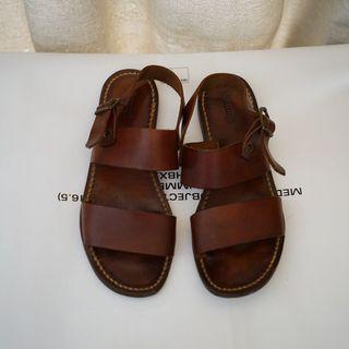 Samuji Dark Cognac Sandal