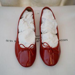 Zara Girls Ballet Flats Size 36 Red