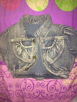 Outer jeans crop