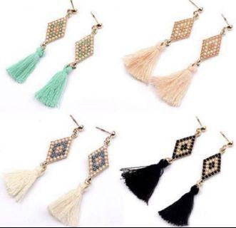 Vintage Tassel Dangling earrings