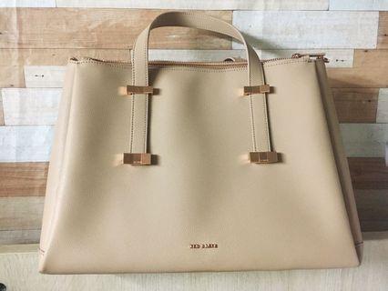 Ted baker Adjustable handle leather bag 返工袋