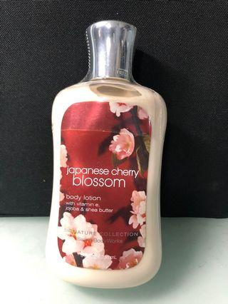Japanese Cherry Blossom (Bath and Body Works) Body Lotion