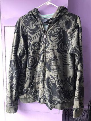Reversible Volcom jacket with hoodie