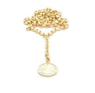 Venus Statement Coin Necklace