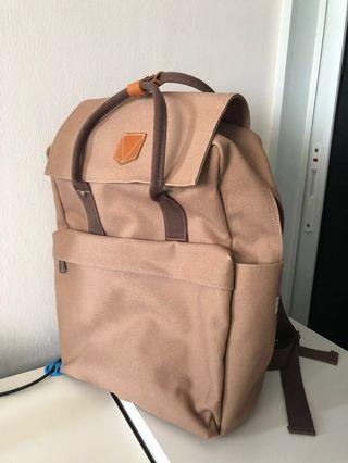 Canvas Backpack Adults Men Student School Bag