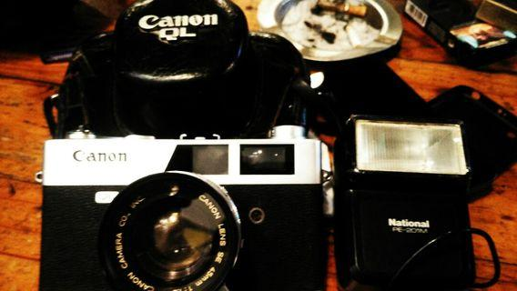 Camera cononnet ql19 vintage mulus