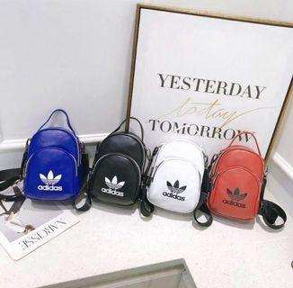 Adidas casual PU backpack Mini Sling Bag (unisex)